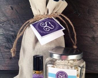 Bath Salts & Parfums Gift Sets - Vegan and Cruelty Free
