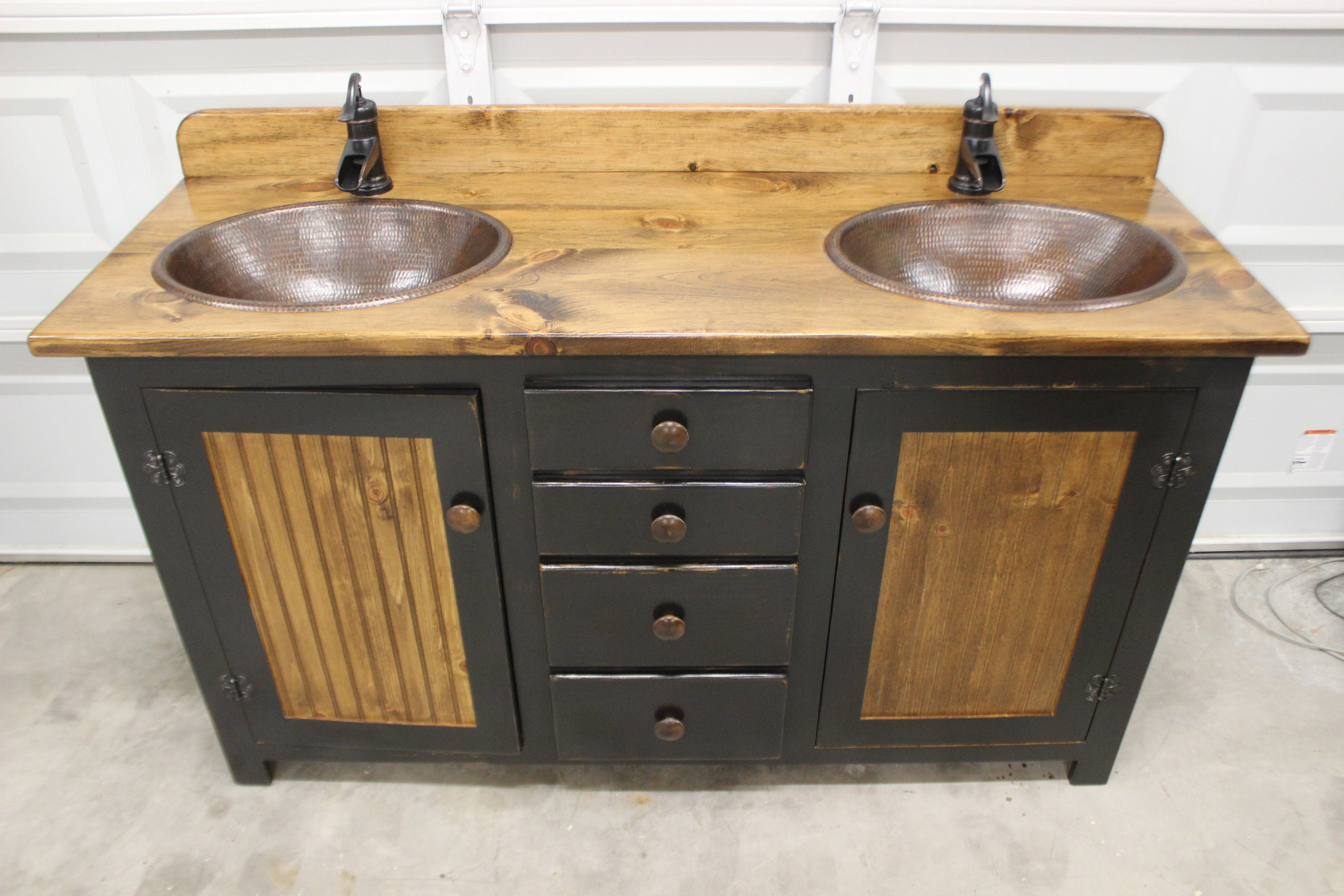 double as farmhouse full farm home bathrooms best style idea of attractive size bathroom well vanity sink inch