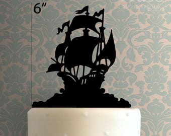 Pirate Ship 101 Cake Topper