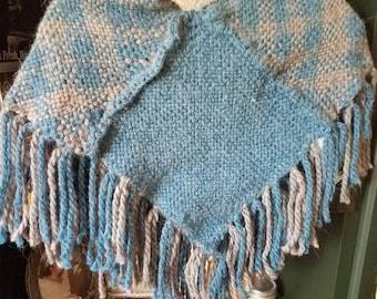 20 % Alpaca Hand Woven shawlette.