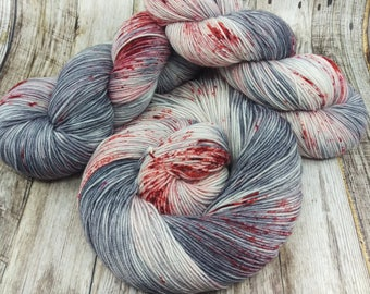 You're Gonna Need A Bigger Boat - Hand Dyed - Fingering Weight - SW Merino/Nylon - 113 grams - 8 Ply