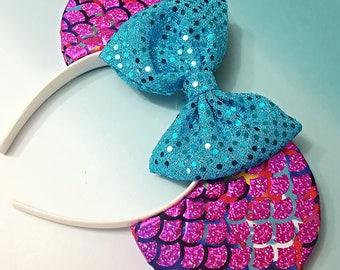 Mermaid Lagoon inspired Ears