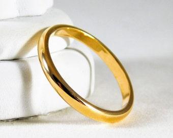 14kt Yellow Gold Wedding Band