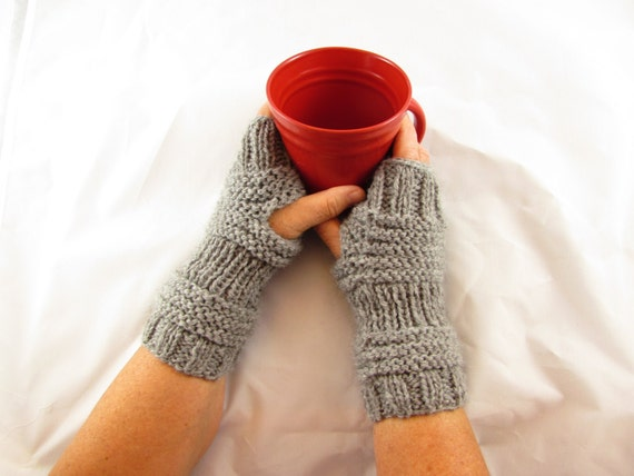 Fingerless Mittens Easy Knitting Patterns Fingerless Gloves