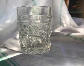 Leaded glass water cup