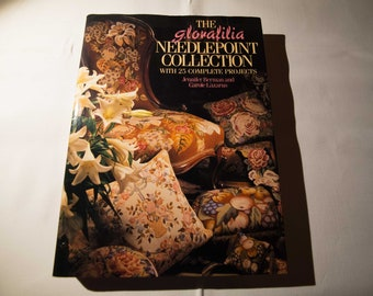 The Glorafilia Needlepoint Collection by Jennifer Berman