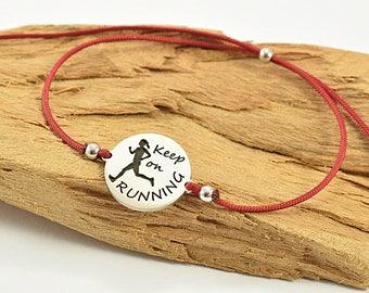 Bracelet for runner women, womens bracelet for runner, motivational bracelet for women, motivational bracelet for women runner,