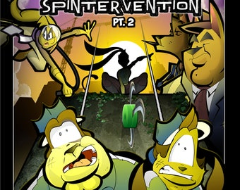 On Patrol: Issue #3 - Spintervention Pt. 2