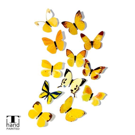 Magnificent 3d Butterflies Wall Art Ideas - Wall Art Design ...
