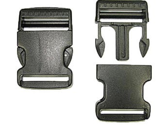 "1-1/2"" Side Release Buckle - 10 Pack"