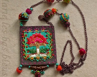 The embroideries amulet