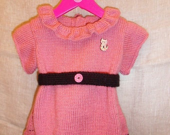 """Dress """"french Cancan"""" 6/9 months"""
