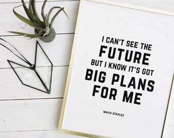 Big Future Print