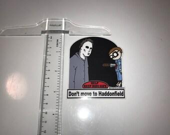 Safety Kid sticker - Halloween