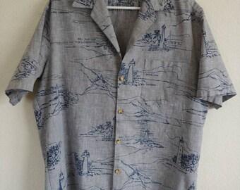 Honolulu Lighthouse Shirt
