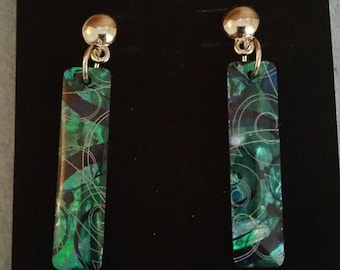 0237-Paua (Oyster Shell) Earrings