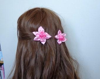 Girl/baby hair clip  on Snap Clip