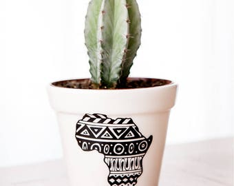 African Tales Planter