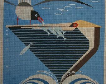 Pelican Pantry Needlepoint Pattern