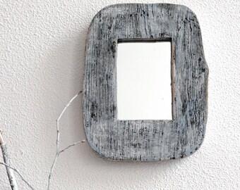 Small Mirror, Wall Mirror, Shabby chic Mirror, Rustic Mirror, Farmhouse Mirror, Modern Mirror, Decorative Mirror, Wood Mirror, Frame Mirror