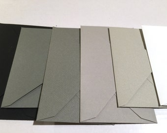 "A7 Envelopes  5 1/4"" x 7 1/4"" (133mm x 184mm)  50/Pk- Gray Envelopes"