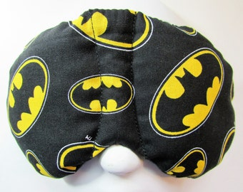 Herbal Hot/Cold Therapy Sleep Mask with adjustable and removable strap Batman