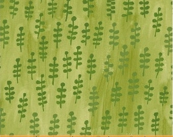 Sprigs in Green by Carolyn Gavin from the BFFs collection for Windham #50487-2 by 1/2 yard