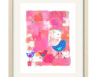 baby girl bathroom art, bathroom decor, baby girl nursery art, children's art girl bathroom art nursery art bathroom decor kids bathroom art