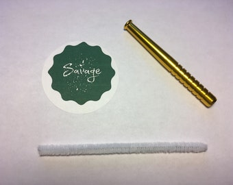 3 Inch One Hitter with Pipe Cleaner