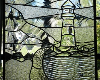 Beveled Glass Lighthouse