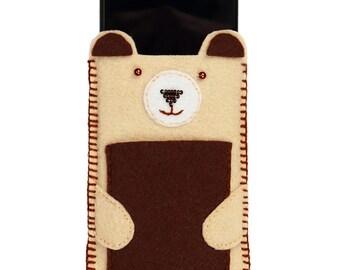 Phone Case DIY kit with felt; sewing kit; craft kit