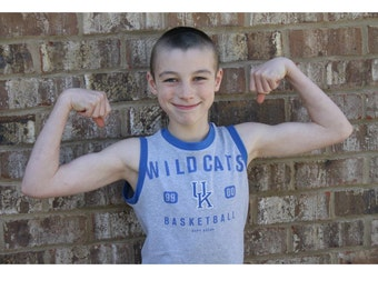 Matey Muscle Tank PDF Sewing Pattern for boys sizes 3m-14 Knit Shirt Top