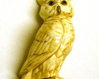 Snow Owl Figurine