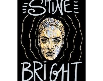 Shine Bright - Digital Art Print