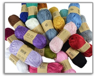 100%  mercerized cotton, Natural Fine Hand Knitting Yarns, Organic cotton