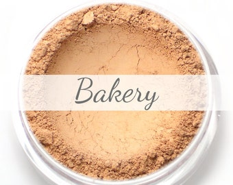 "Mineral Blush Sample - ""Bakery"" (soft light peach, pale apricot blush, matte) - Vegan"