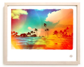 "Surf Art Limited Edition Photo Print ""Tropics"" - Borrowed Light Series"