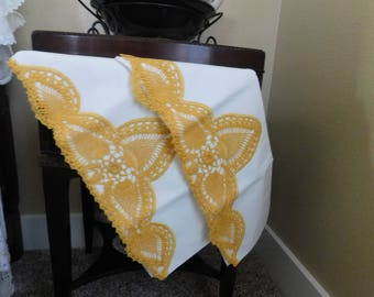 Elegant Victorian 40s Pillowcase Set