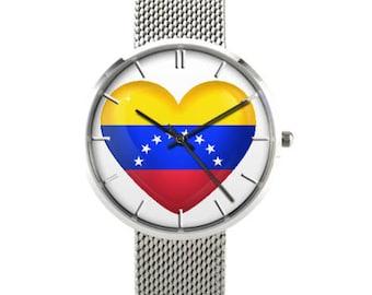 Venezuela  Watch, Stainless Steel , Waterproof Waterproof, Venezuela Lovers