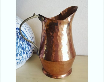 Hammered Copper Pitcher from Turkey