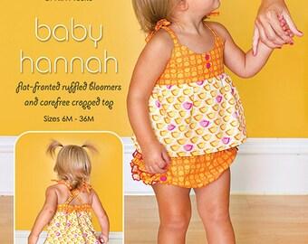 Mod Kid Sewing Pattern - Baby Hannah - Patty Young