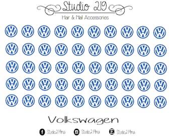 Volkswagen Waterslide Nail Decals