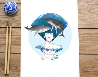 ART PRINT - OCEANO - serie limitada