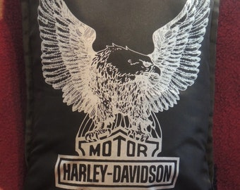 Mototcycle Pillow weatherproof Fathers Day Man Cave Motorcycle Last ONE only On SALE