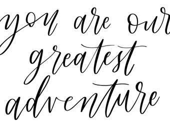 Greatest adventure (digital download)