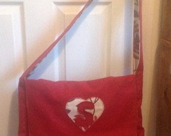 Large laptop messenger bag