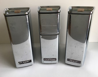 Lincoln Beautyware Metal Canister Set
