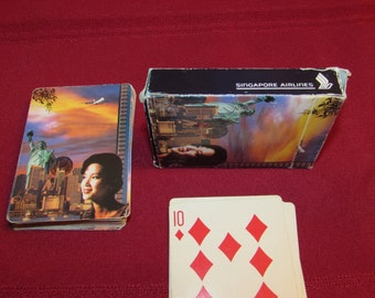SINGAPORE AIRLINES Playing Cards
