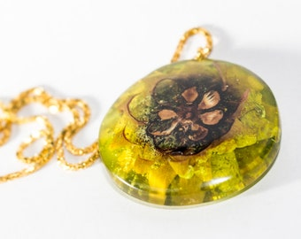021 Resin jewelry, resin necklace, resin pendant, wooden necklace, wood jewelry, wood pendant