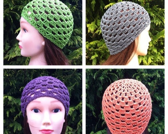 V's Spring Beanie Crochet Pattern